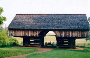 Southern Appalachian Cantilever Barn