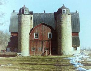 Wisconsin Twin Silo Barn