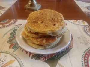 Buttermilk Pecan Pancakes