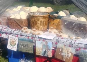 Whirld Works Farm texas yarn lovers booth